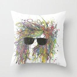 Rough Night Throw Pillow