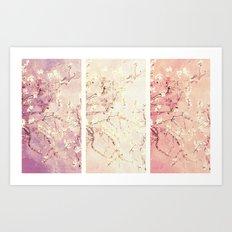 Vincent Van Gogh : Almond Blossoms Panel ART Art Print