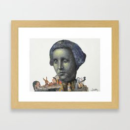 Louis Carrol Framed Art Print