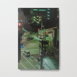 Tokyo feels: Ikebukuro sleeps 4 Metal Print