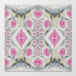 An Abundance of Magical Crystal Candies Canvas Print