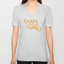 DnD Carpe DM Dungeons and Dragons Unisex V-Neck