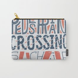 Pedestrian Crossing, Sunshine Carry-All Pouch