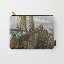 Manet - The Toilers of the Sea,1873 Carry-All Pouch
