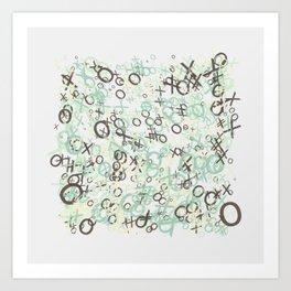 xoxoxo Art Print