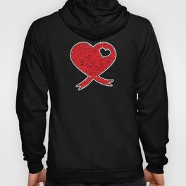World Aids Day Stay Positive Awarness Ribbons gift Hoody