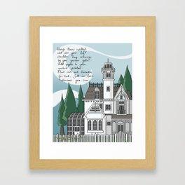 The Magic House Framed Art Print