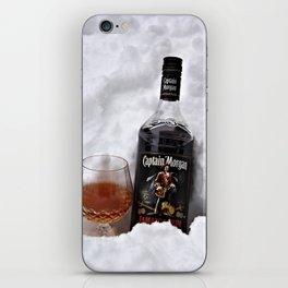 Ice Cold Captain Morgan Rum iPhone Skin
