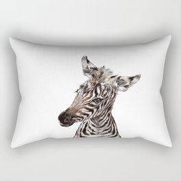 Baby Zebra Rectangular Pillow