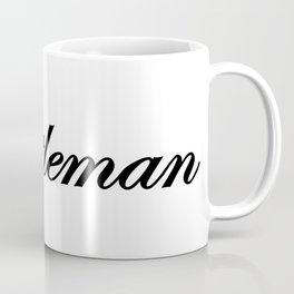Gentleman Obsidian Coffee Mug