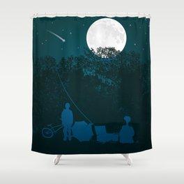 STEVEN SPIELBERG'S E.T. Shower Curtain