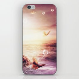 You're burst into my heart iPhone Skin
