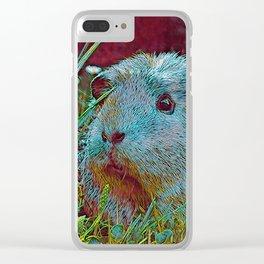 Popular Animals - Guinea Pig 2 Clear iPhone Case