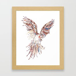 Tribal Macaw Framed Art Print