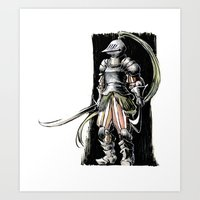knight Art Prints featuring Knight by Vagelio