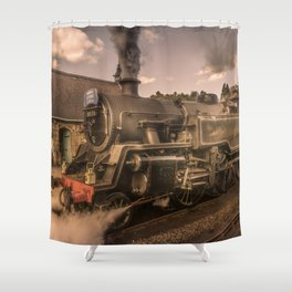 Whitby Express Shower Curtain