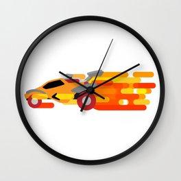 Octane Boost Wall Clock