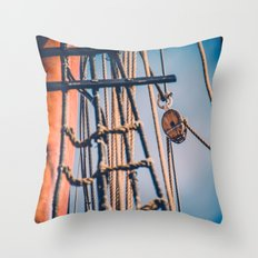 Hold Tight III Throw Pillow