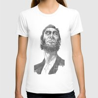 lincoln T-shirts featuring Lincoln 49 by David Sparvero