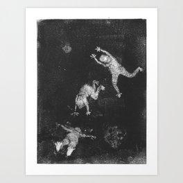 Shadow Dancers Art Print