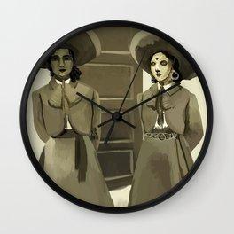 Dos Charras Wall Clock
