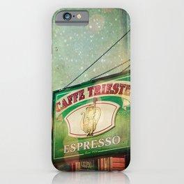 Caffe Trieste iPhone Case