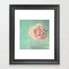 Mint Rose  Framed Art Print
