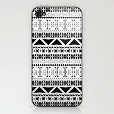 Black & White Pattern iPhone & iPod Skin