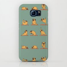 Pug Yoga Galaxy S7 Slim Case