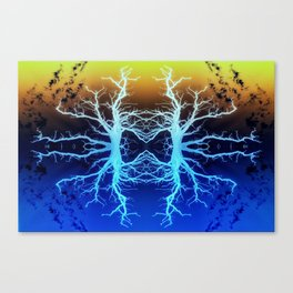 Forests Spirits in Technicolour Canvas Print