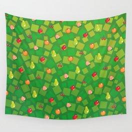 Fruit Basket Wall Tapestry