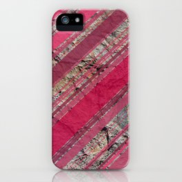 Pink  & Rock iPhone Case