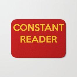 Constant Reader Bath Mat