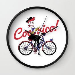 COCORICO! Wall Clock