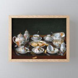 Jean-Étienne Liotard Still Life Tea Set Framed Mini Art Print