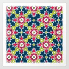 Turkish Tile Art Print