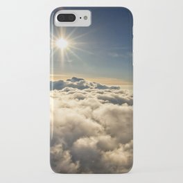 clouds (Above The Heavenly Clouds) iPhone Case