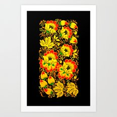 Flower Design Art Print