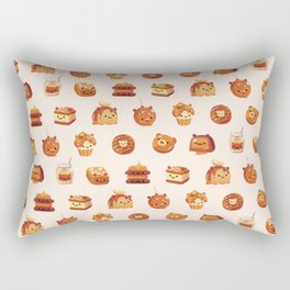Salted caramel bear Rectangular Pillow