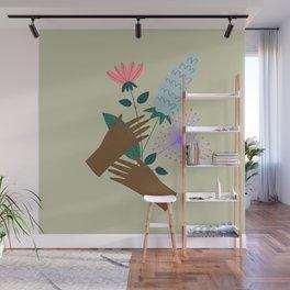 Love Bouquet Wall Mural