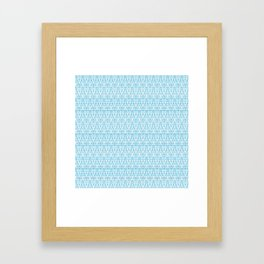 Tribal Waves : ADAM Framed Art Print