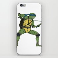 leonardo iPhone & iPod Skins featuring Leonardo by Neal Julian
