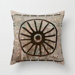 Simbologia Tribal 1 (Islas Canarias) Throw Pillow
