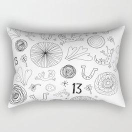 Lucky You Rectangular Pillow