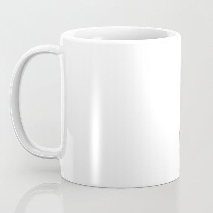 """ Morning fox "" Red fox with her morning coffee Coffee Mug"