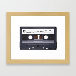 Songs In The Key Of Life Framed Art Print