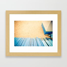 Something about vacations Framed Art Print