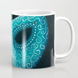 Peacock Masquerade Coffee Mug