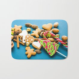 Christmas Cookies Bath Mat