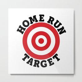 Home Run Target Metal Print